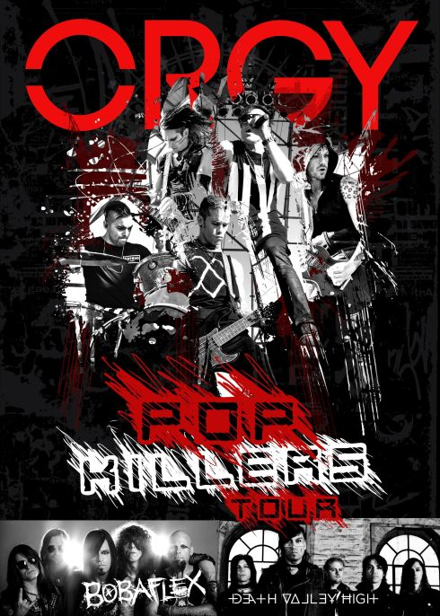 ORGY Pop Killers Tour Image