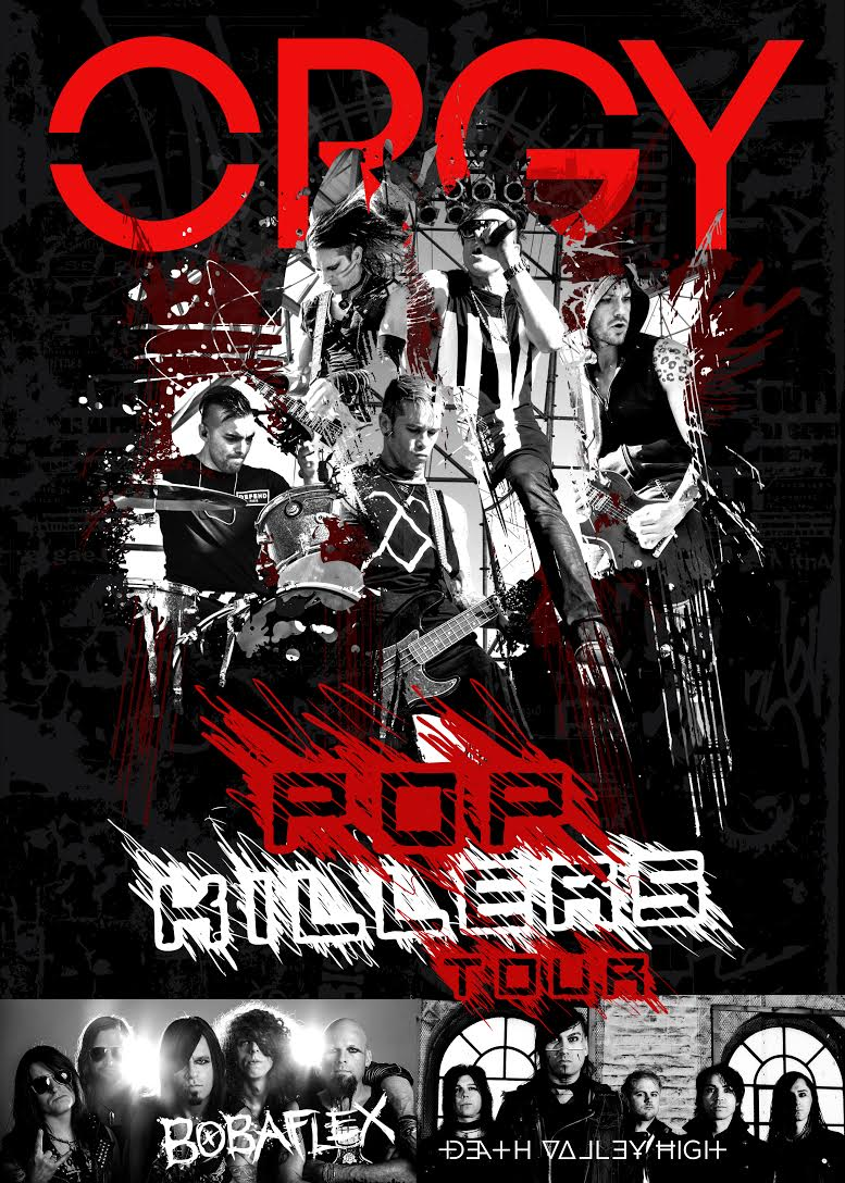IDC band ORGY – Pop Killers US Tour