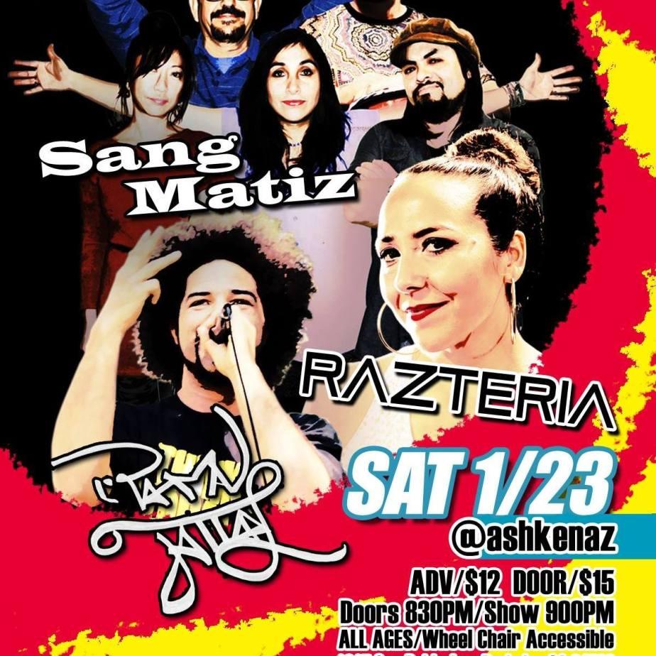 Razteria show