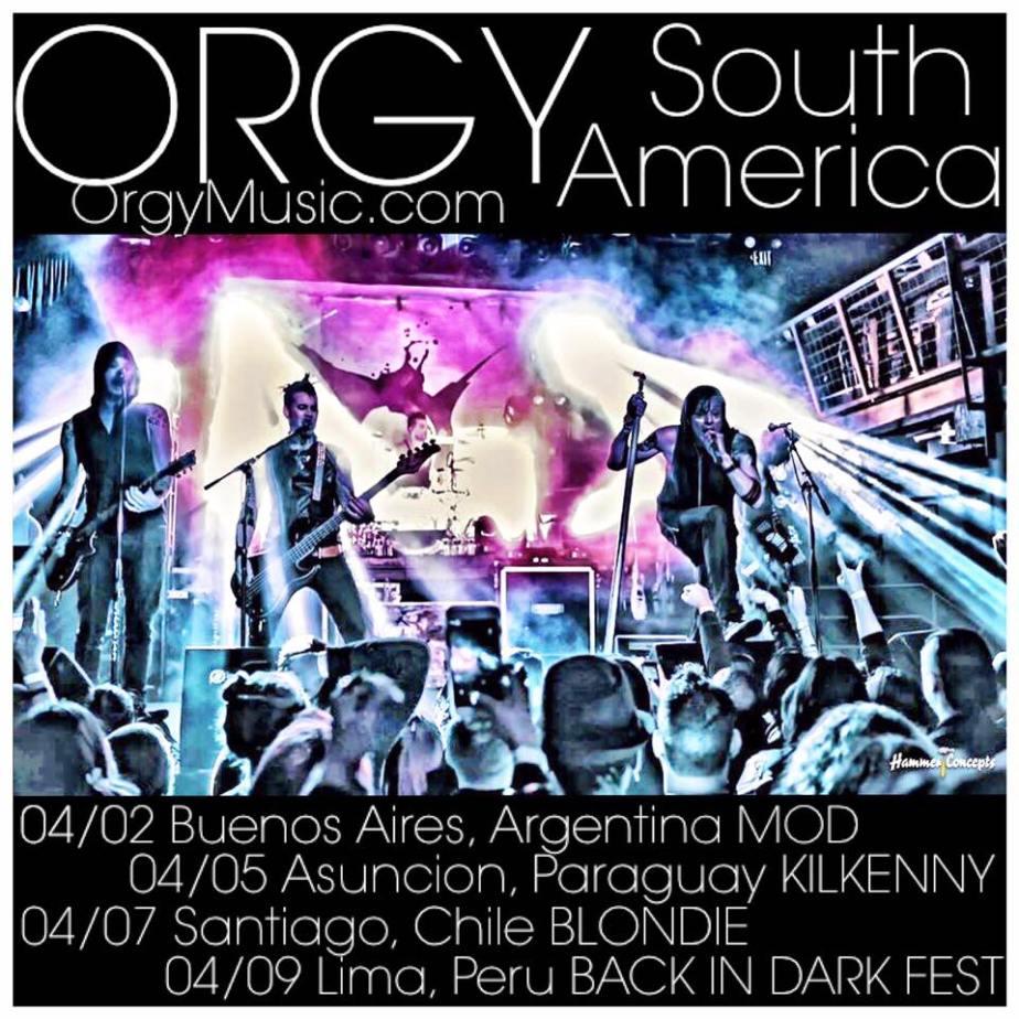 ORGY Tour