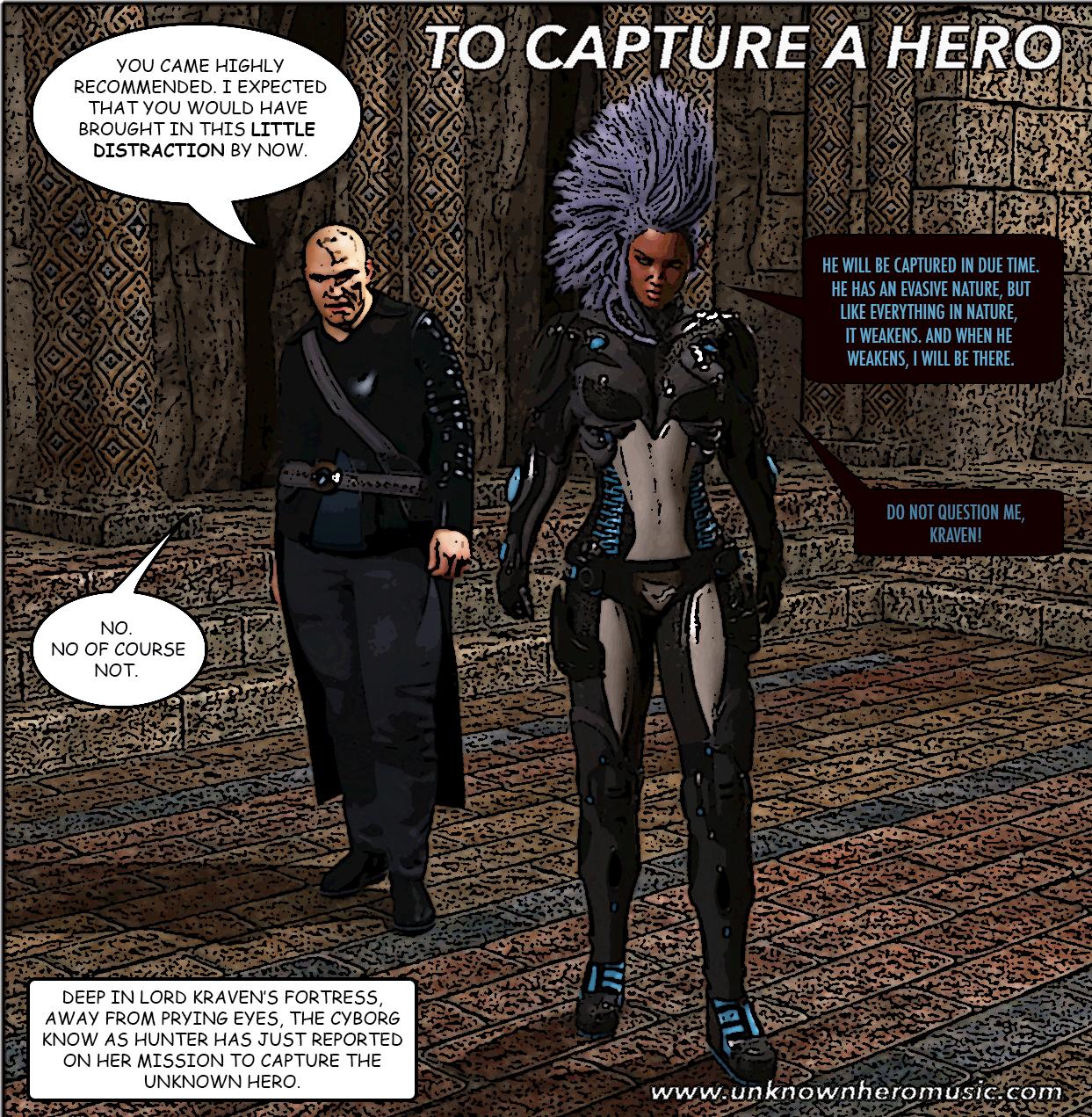 Hunter and Kraven panel