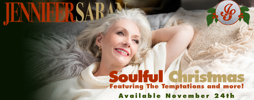 Jennifer Saran releases new Soulful Christmas worldwide today!