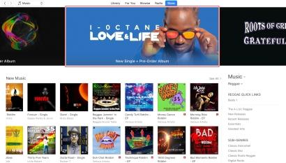 I-Octane Love Life iTunes Banner