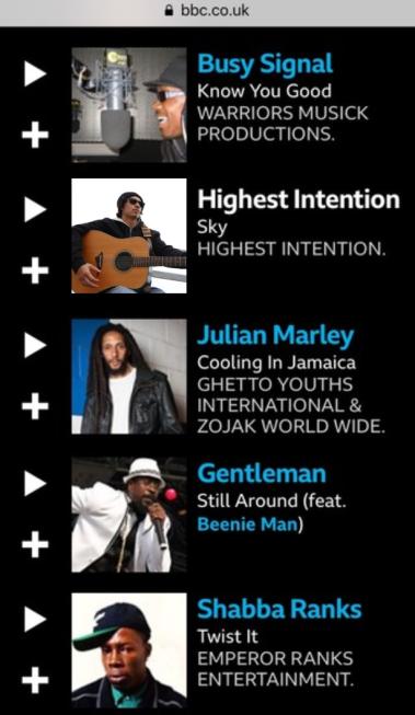 Rodigan BBC Radio - Sky Premiere 03-10-19