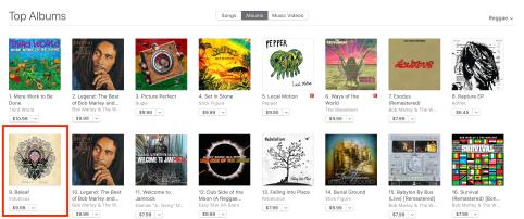 iTunes Indubious Top Ten Debut