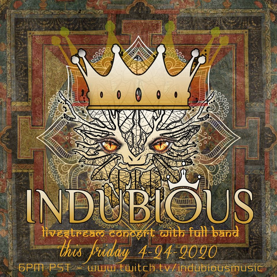 Indubious Live Stream Poster