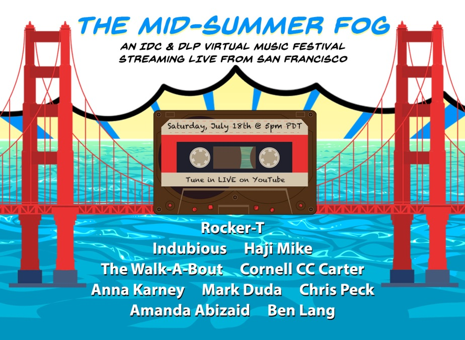 The Mid-Summer Fog Festival is only 8 daysaway!