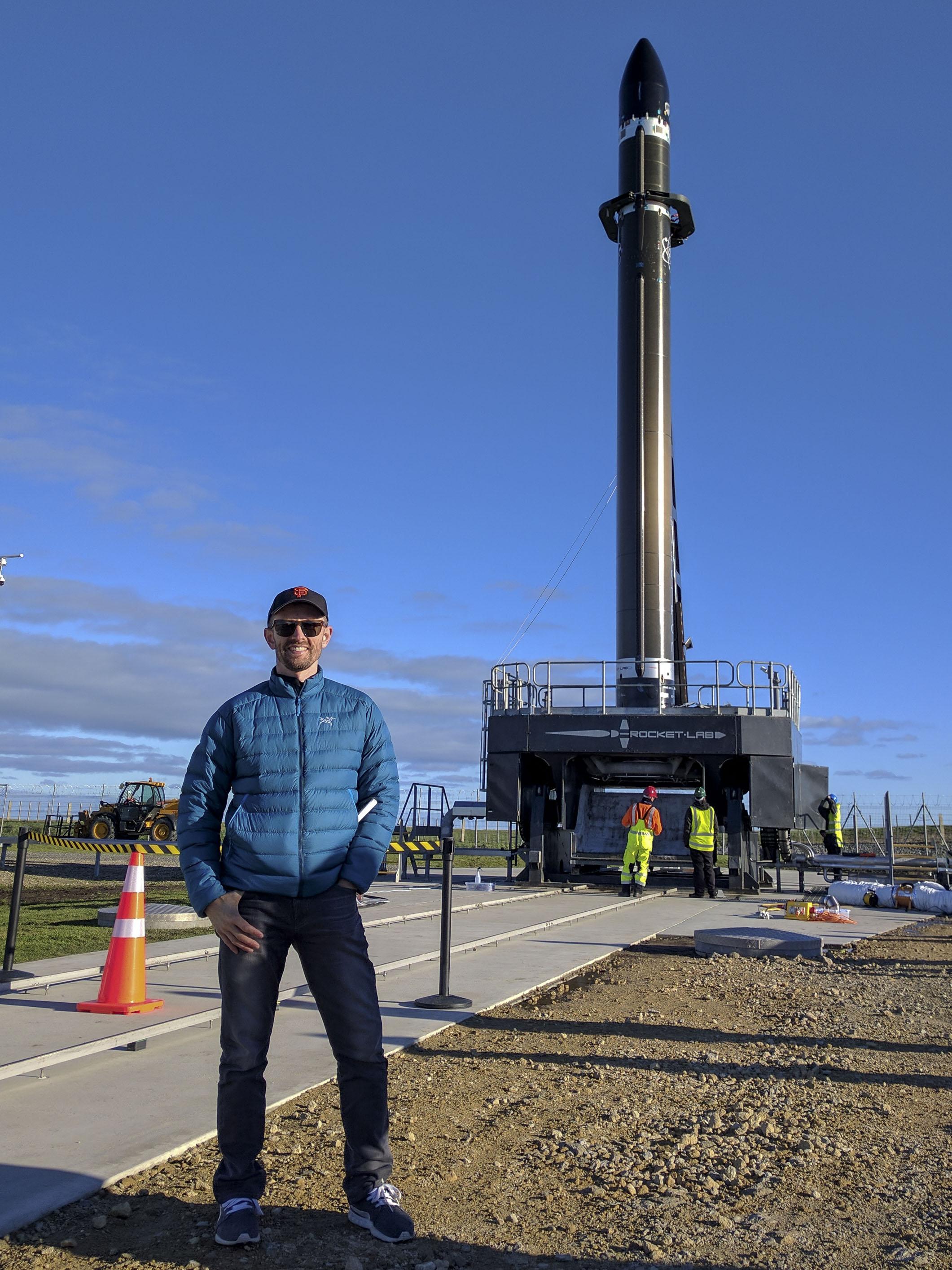Dr Chrispy Rocket Lab New Zealand