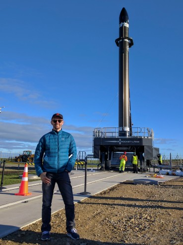 Dr Chrispy Rocket Lab New Zealand