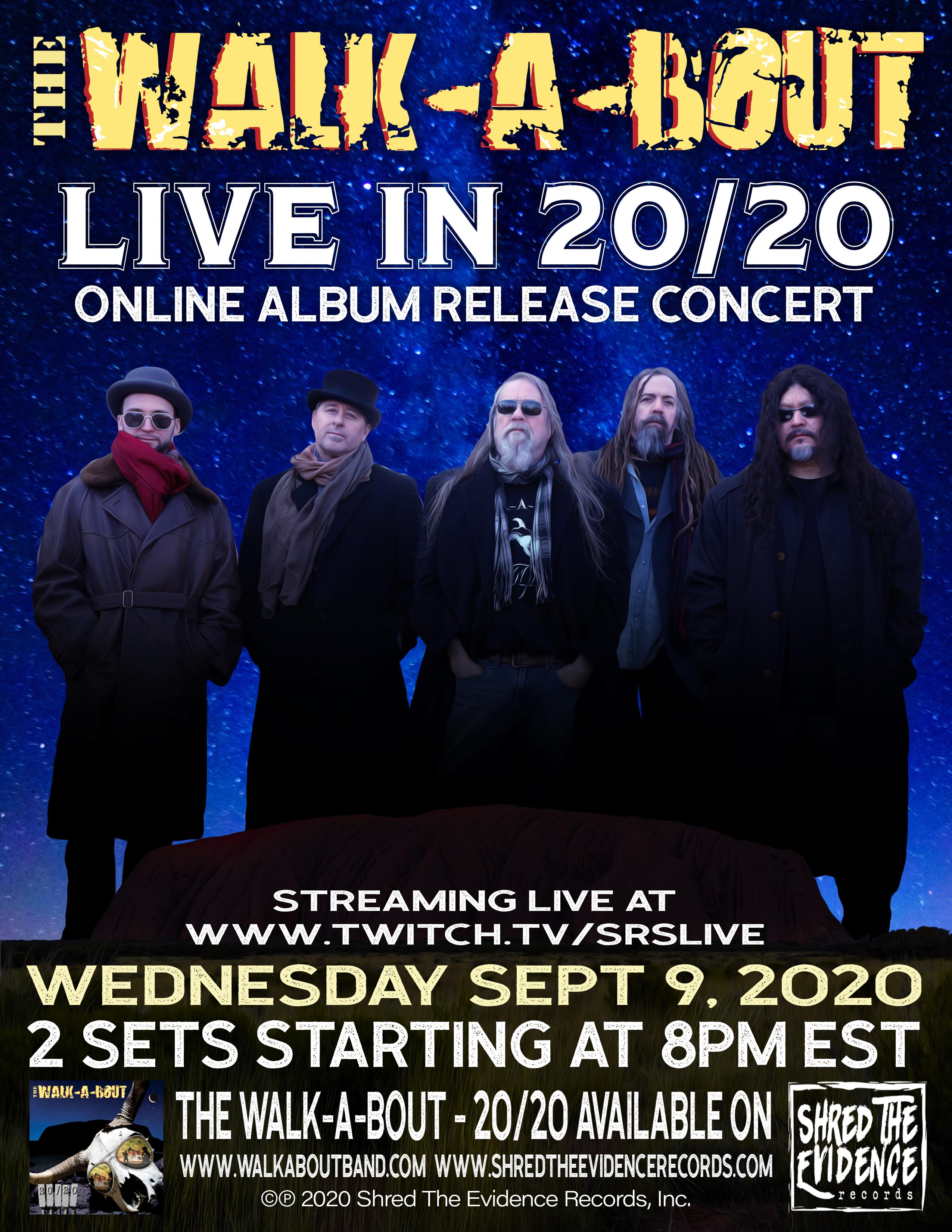 WAB Release Concert OnlinePoster